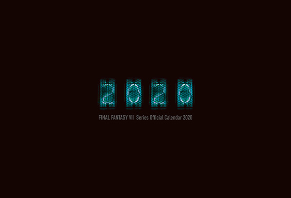 【オフィシャルショップ限定】 FINAL FANTASY VII Series Official Calendar 2020