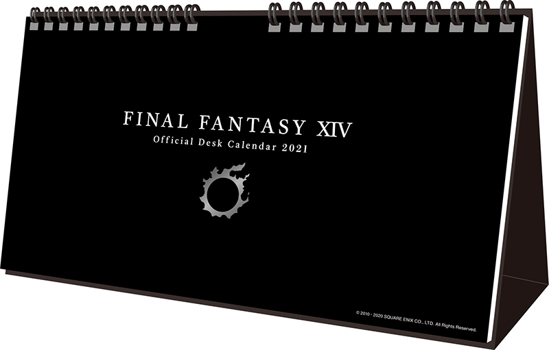 FINAL FANTASY XIV: Official Desk Calendar 2021