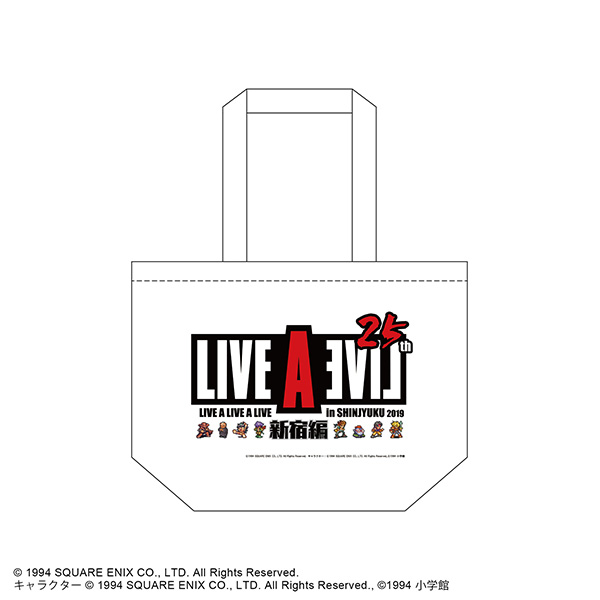 LIVE A LIVE A LIVE 2019 新宿編 ~25th Anniversary~ トートバッグ