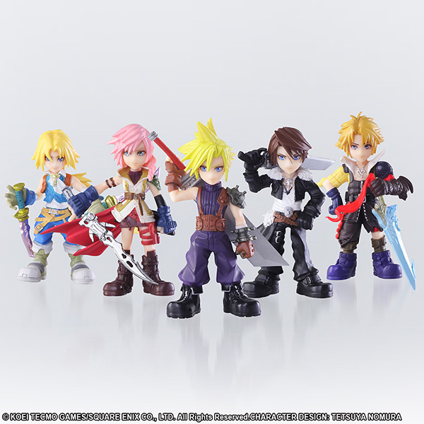 DISSIDIA FINAL FANTASY OPERA OMNIA TRADING ARTS BOX