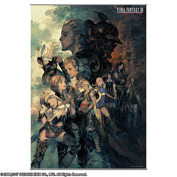 FINAL FANTASY XII THE ZODIAC AGE ウォールスクロール