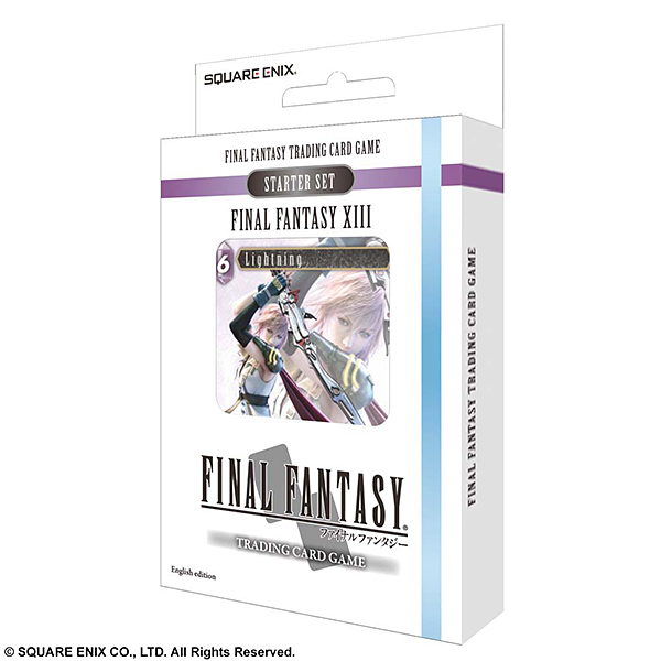 FINAL FANTASY TRADING CARD GAME スターターセット FINAL FANTASY XIII 英語版