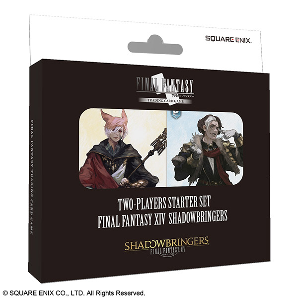 FINAL FANTASY TRADING CARD GAME 対戦デッキ スターターセット FINAL FANTASY XIV SHADOWBRINGERS 英語版