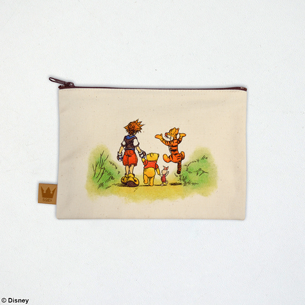 Kingdom Hearts / Canvas Pouch <100 acre forest>