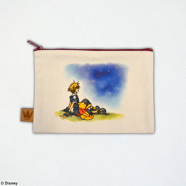Kingdom Hearts II / Canvas Pouch <100 Acre Forest>