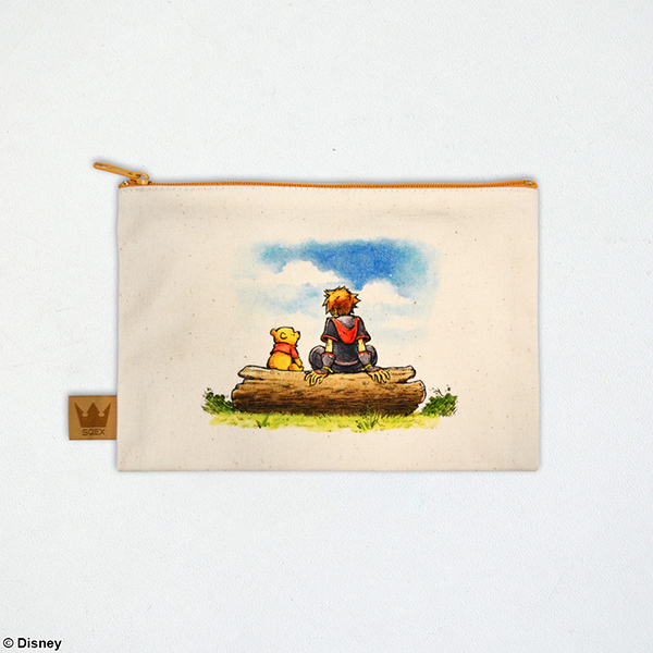 Kingdom Hearts III / Canvas Pouch <100 Acre Forest>