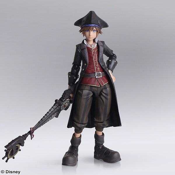 KINGDOM HEARTS III BRING ARTS <ソラ パイレーツ・オブ・カリビアン ver.>