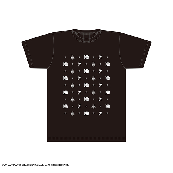 NieR:Theatrical Orchestra 12020 Tシャツ <たくさん>