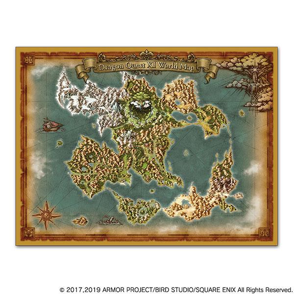 ドラゴンクエストXI 過ぎ去りし時を求めて S ワールドマップクロス