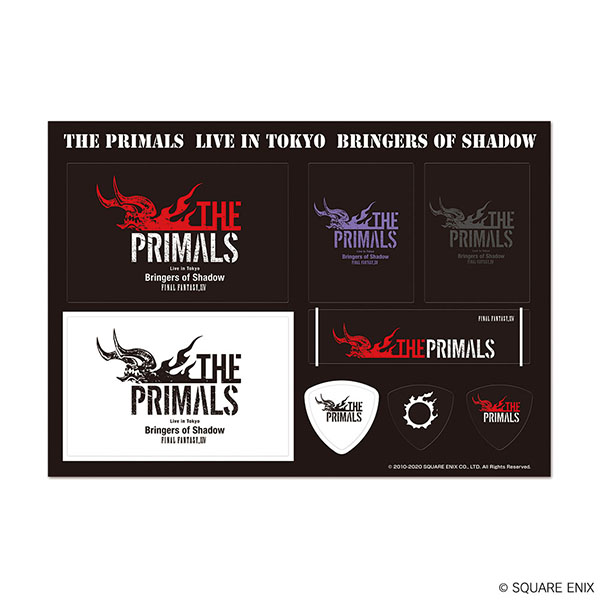 ファイナルファンタジーXIV THE PRIMALS Live in Tokyo Bringers of Shadow ステッカー