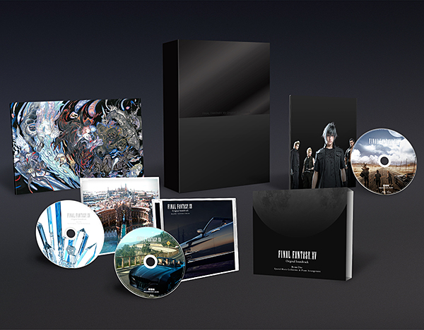 FINAL FANTASY XV Original Soundtrack【Blu-ray Disc初回生産限定特装盤/映像付サントラ】