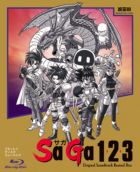 SaGa 1,2,3 Original Soundtrack Revival Disc【映像付サントラ/Blu-ray Disc Music】
