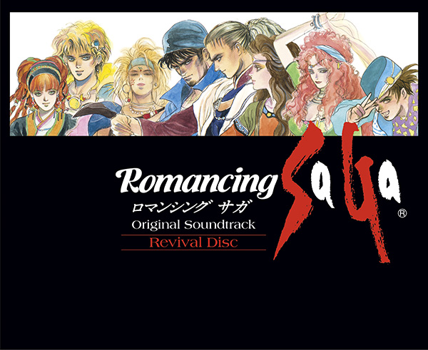 Romancing SaGa Original Soundtrack Revival Disc【映像付サントラ/Blu-ray Disc Music】