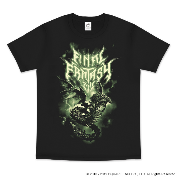 FINAL FANTASY XIV FAN FESTIVAL 2018 in LAS VEGAS T-SHIRT<SHINRYU>